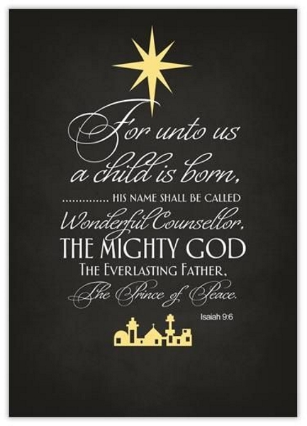 christmas scriptures for greeting