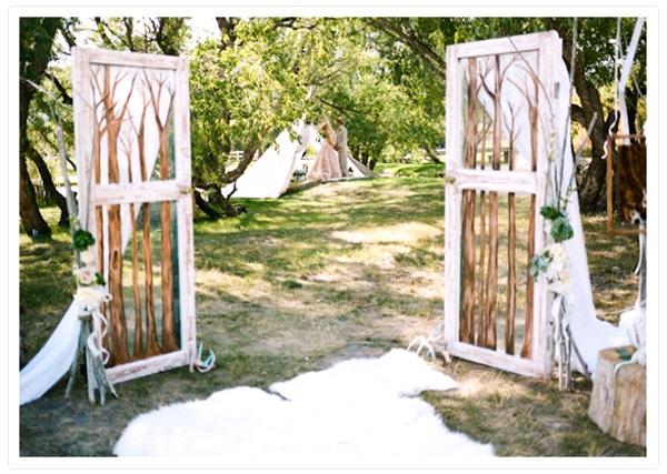 43 Best Outdoor Wedding Entrance Ideas