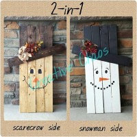 50 Best DIY Snowman Christmas Decoration Ideas - Pink Lover