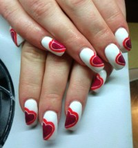50 Best Valentines Day Nail Art Designs
