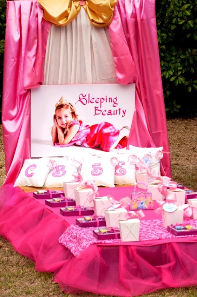 Disney Princess Birthday Party Ideas Pink Lover