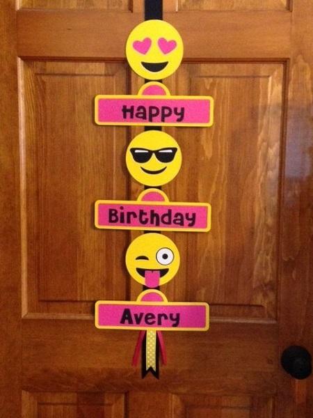 50 Emoji Birthday Party Ideas