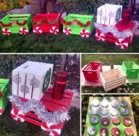 Outdoor Christmas Decorations Pinterest Approved!