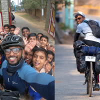 Humans of Kerala: Jestin Shaji - Discovering India, One Bicycle Ride At A Time