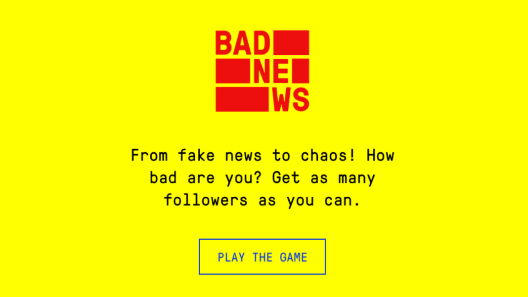 Game to spot fake news