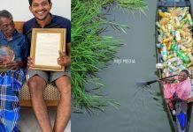 Eco-warrior Rajappan From Kerala Bags International Honour