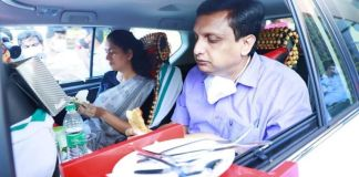 In-car Dining in Kerala
