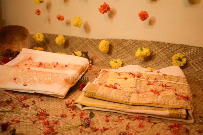World's First Real Size Edible Saree