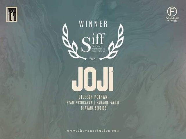 Dileesh Pothan's Joji Wins Big At The Swedish International Film Fest
