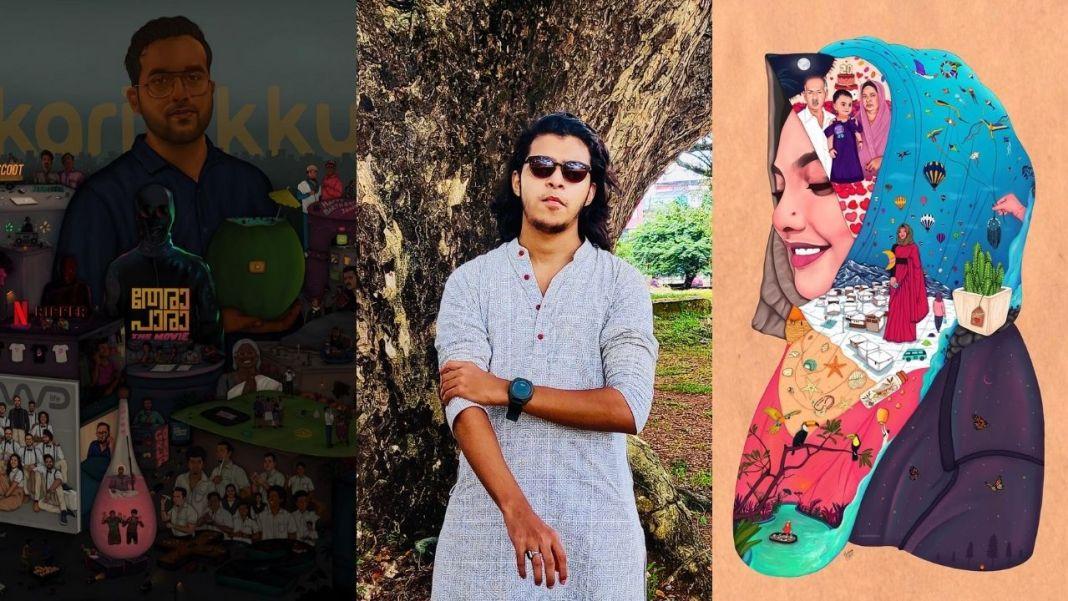 Mohammed Salih illustrator thrissur
