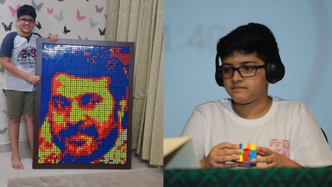 Advaidh Manazhy Rubik's Cube