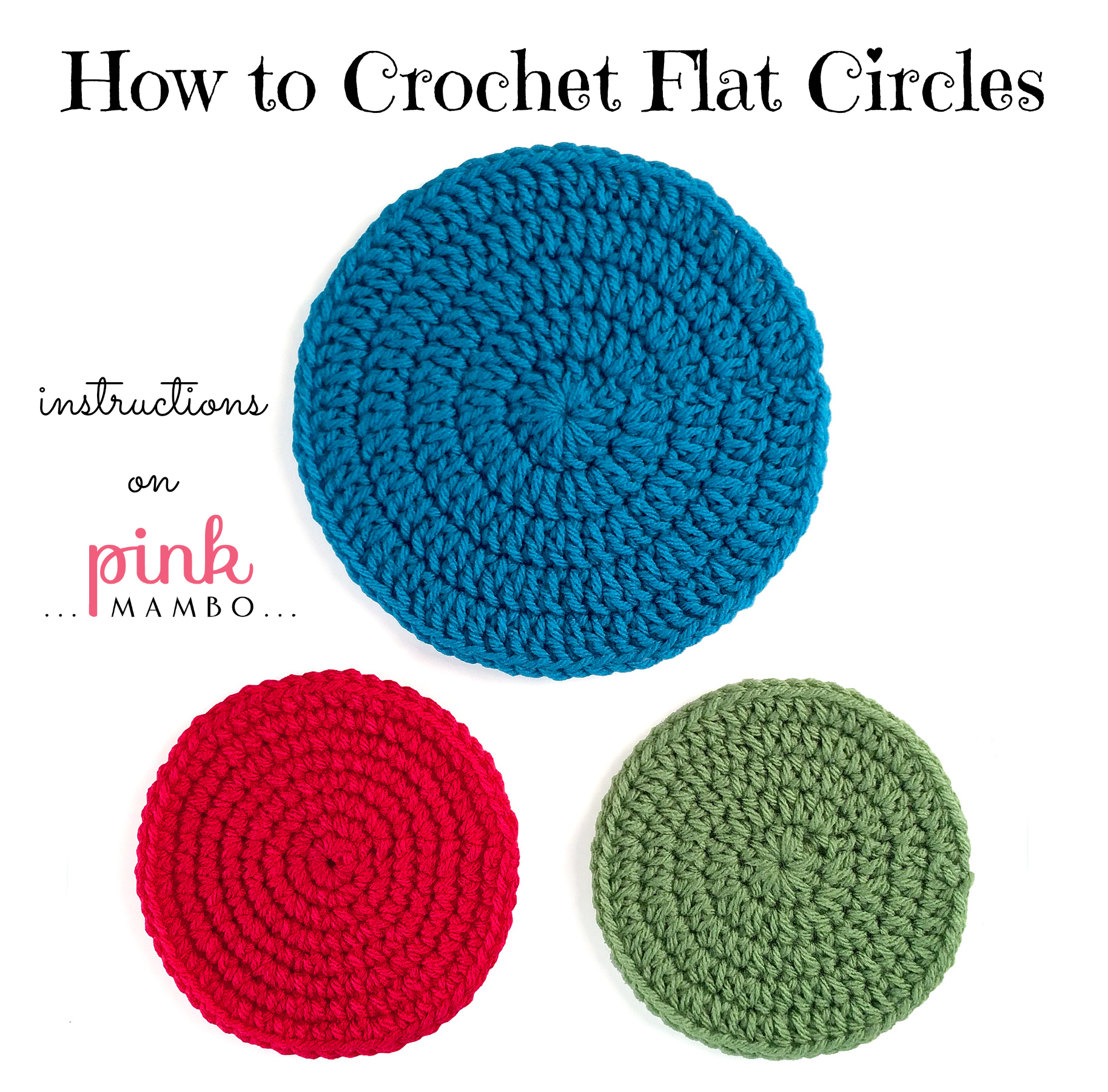 Crocheting In A Continuous Round : ... circles multicolor circles circles with continuous rounds and more