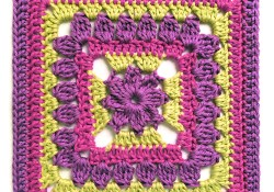 Margaret 10″ Crochet Square