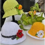 lacy garden party hat by alla koval