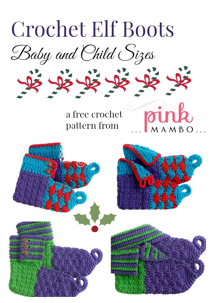 Crochet Elf Coots baby and child