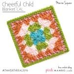 Cheerful Child Crochet Along Monroe Square #11