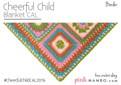 Cheerful Child Crochet Along Border