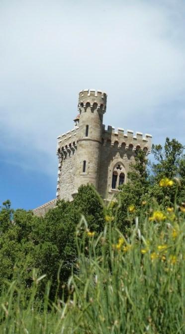 Rennes-le-Château (strange neo-Gothic castle)