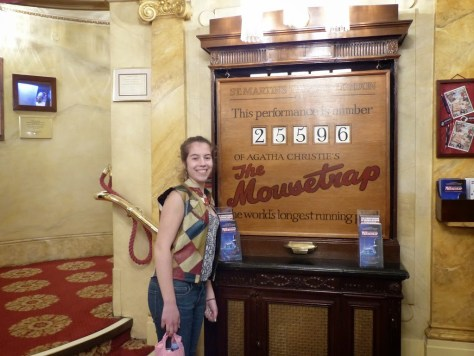 At the 25,596th performance of The Mousetrap