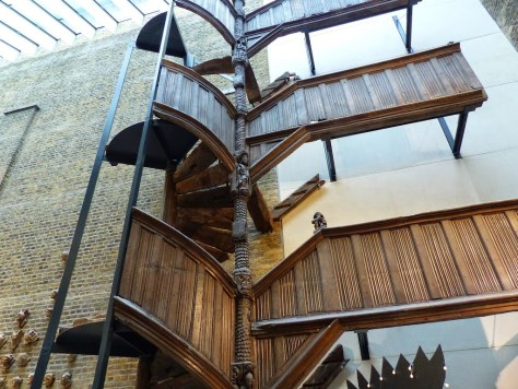 Medieval Staircase at Victoria & Albert Museum