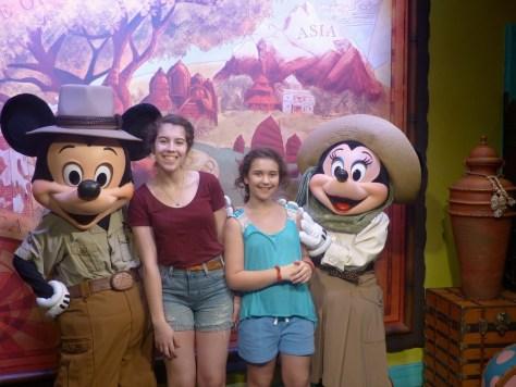 Disney Minnie Mickey