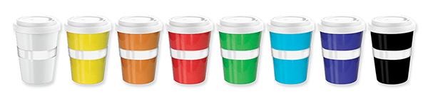 Coffee 2 Go Mug - Colours