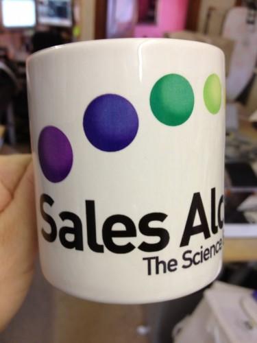 Printed wrap round mug £9