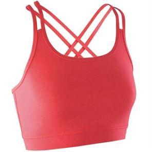 S274F Women's fitness crop top