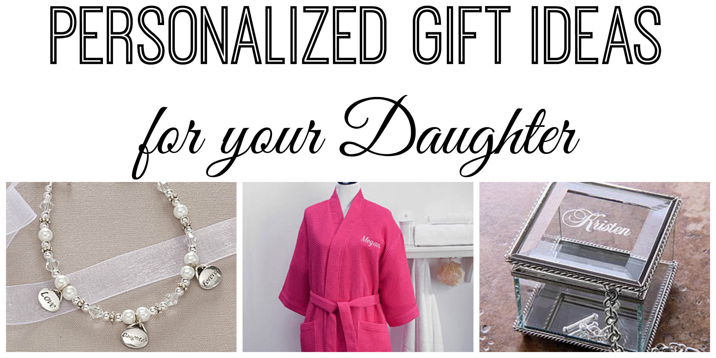 Personalized christmas gift ideas for your daughter personalized christmas gift ideas for your daughter personalization malls holiday gift guide negle Gallery