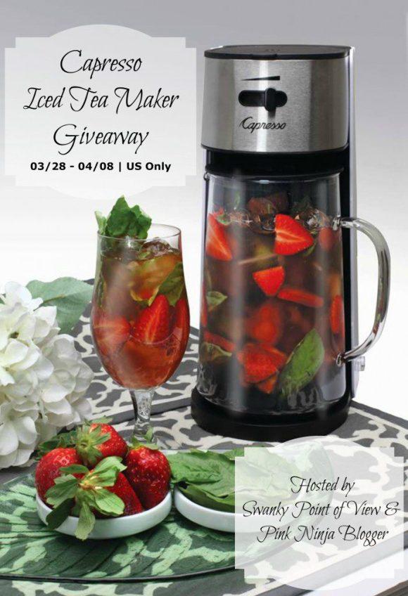 Capresso Iced Tea Maker Giveaway1