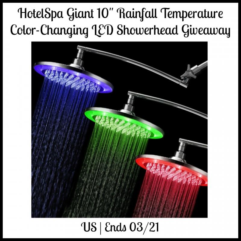 HotelSpa Showerhead Giveaway