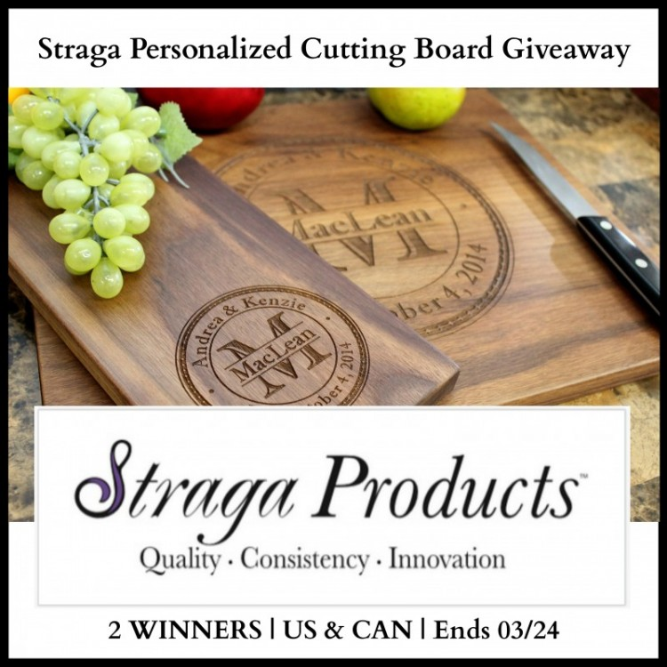 Straga Cutting Boards Giveaway
