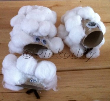 Toilet Roll Holders Sheep/lambs