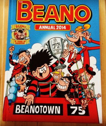 Beano Annual 2014 – 75 Years of Laughter #Review