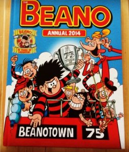 Beano Annual 2014 75 years of laughter