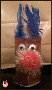 Rudolph the Red nose reindeer TRH craft