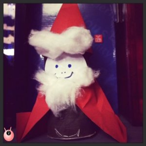 TRH Father Christmas Advent Book review @pinkoddy