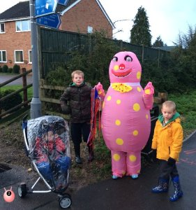 Mr Blobby Sport Relief