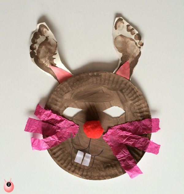 Spring Dressing Up with Paper Plates and Other things
