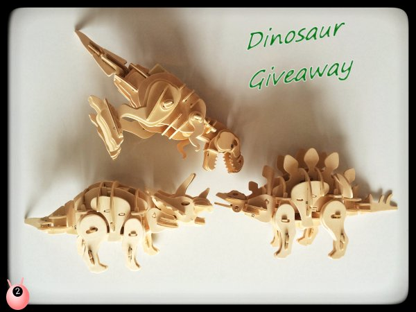 dinosaur and mammoth giveaway