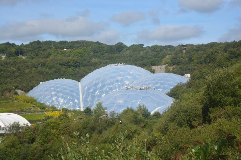 skywire over eden project