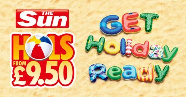 Sun £9.50 Holidays are Back – But things have Changed!