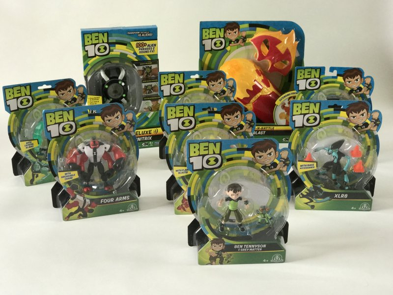 Ben10 Toys from Flair