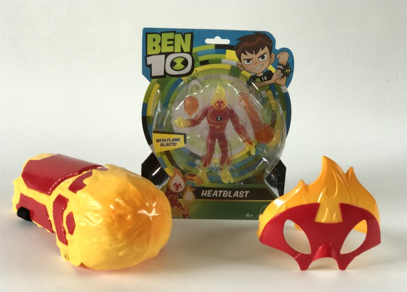 Ben10 Heatblast Toys from Flair