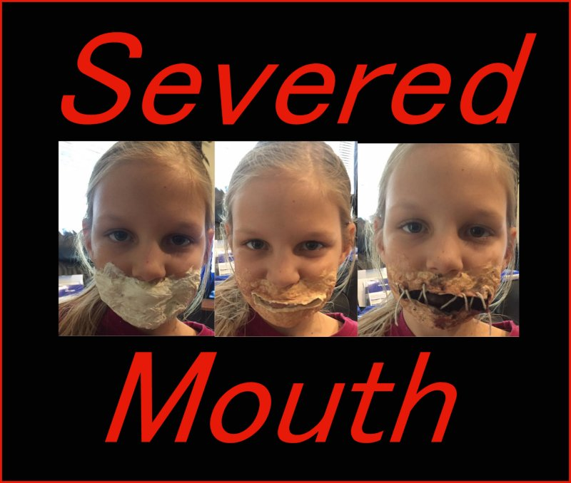 severed mouth
