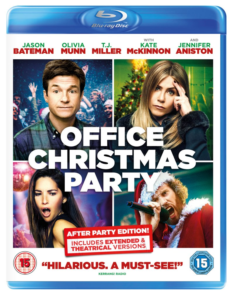Office Christmas Party Blue Ray Sleeve