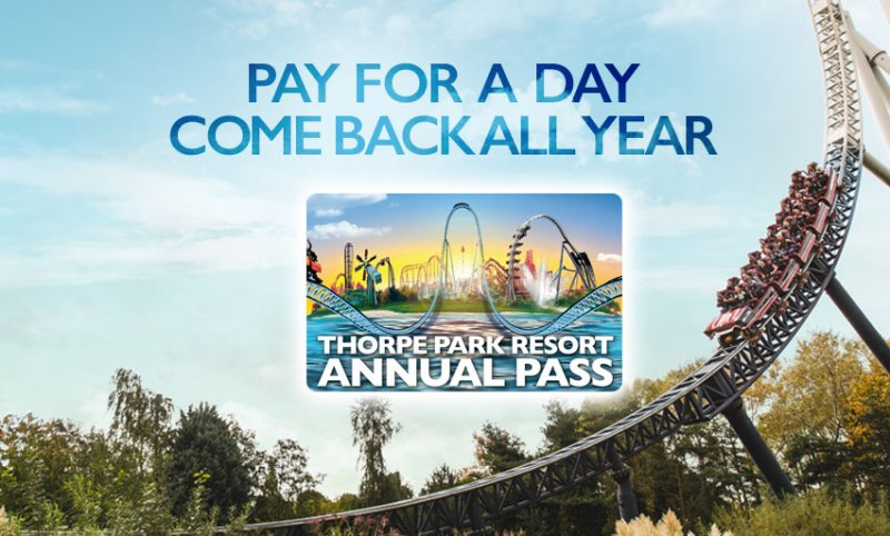 Thorpe Park Resort Annual Pass Sale and GIVEAWAY!