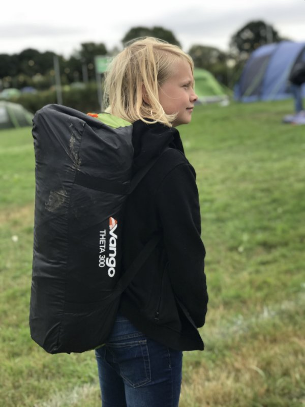 Camping at The Big Feastival