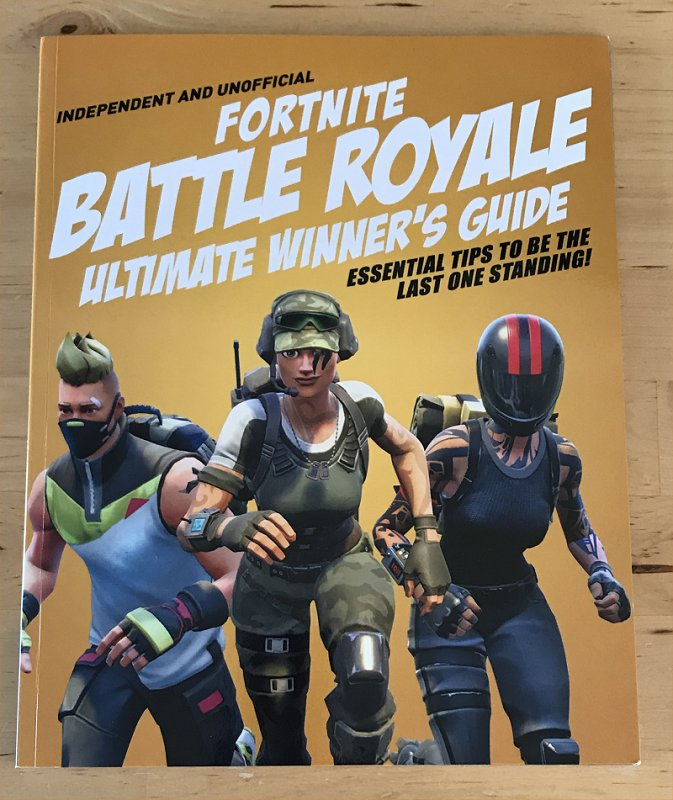 Fortnite Royale Ultimate Winner's Guide Book