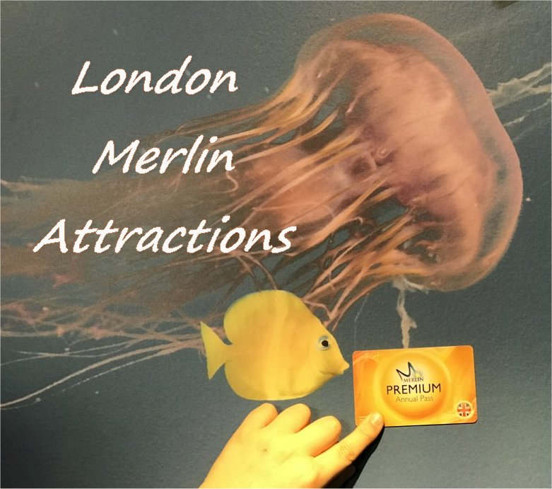 LONDON Merlin Attractions with Premium Pass